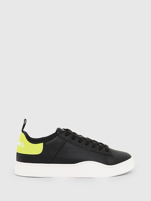 S-CLEVER LOW LACE W, Schwarz/Gelb - Sneakers