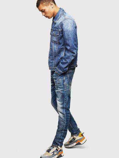 Diesel - Thommer JoggJeans 0870Q, Mittelblau - Jeans - Image 6