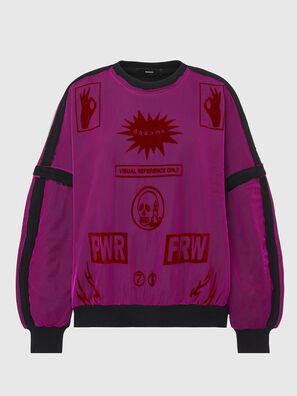 F-TRULY, Fuchsie - Sweatshirts
