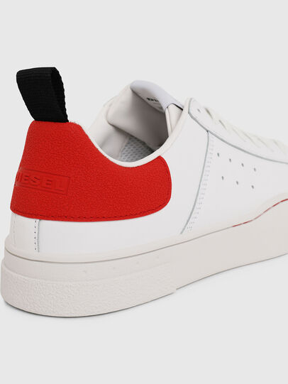 Diesel - S-CLEVER LOW, Weiß/Rot - Sneakers - Image 4