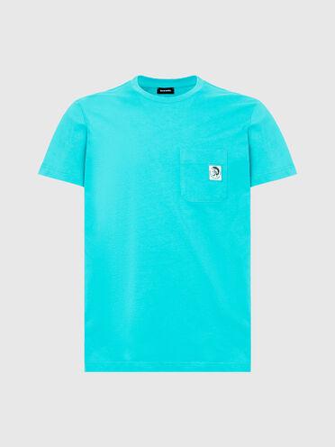 T-Shirt mit Irokesen-Logo