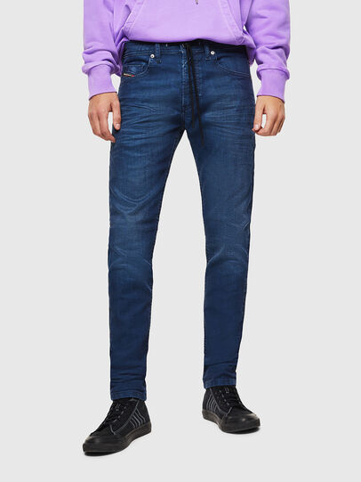 Diesel - Thommer JoggJeans 0098H, Mittelblau - Jeans - Image 1