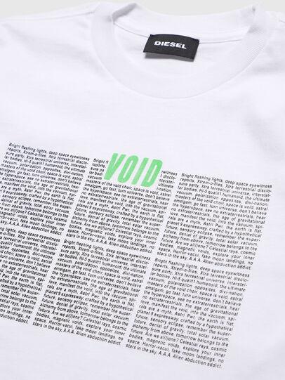 Diesel - TJUSTLS-NEW, Weiß - T-Shirts und Tops - Image 3
