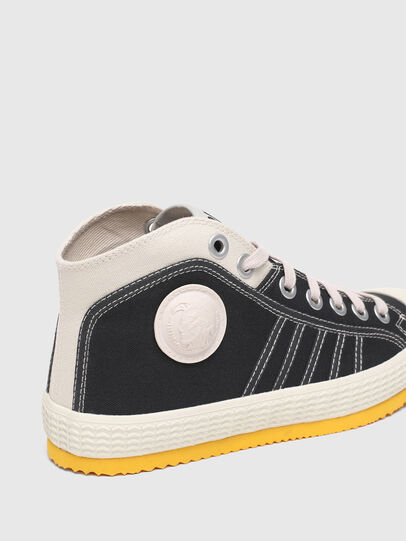 Diesel - S-YUK MC W, Schwarz/Gelb - Sneakers - Image 6
