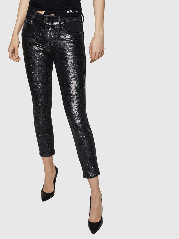 Babhila 0093G, Schwarz/Dunkelgrau - Jeans