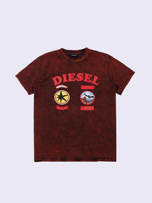 Diesel - TIFFOR, Bordeauxrot - T-Shirts und Tops - Image 1