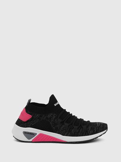 Diesel - S-KB ATHL LACE W, Schwarz/Rosa - Sneakers - Image 1