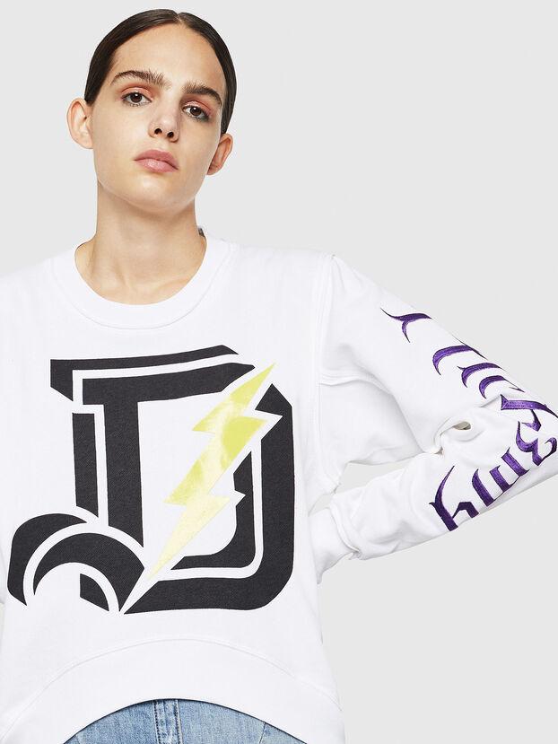 F-LYANYDY-A, Weiß - Sweatshirts