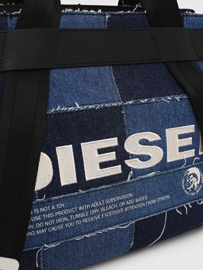 Diesel - F-CAORLY SATCHEL M, Blau - Satchel Bags und Handtaschen - Image 4