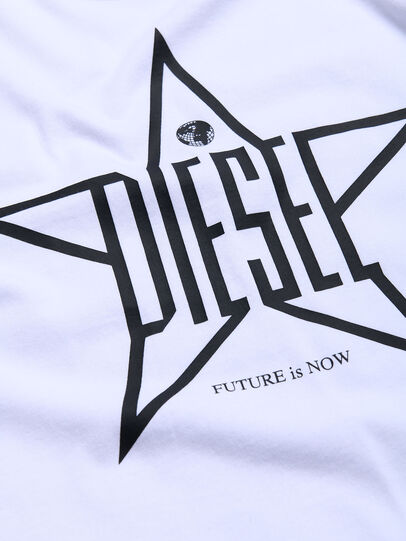 Diesel - TDIEGOYH, Weiß - T-Shirts und Tops - Image 3