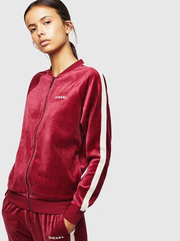 UFLT-BONSHIN-Z, Bordeauxrot - Sweatshirts