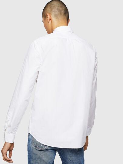 Diesel - S-MOI-R-BW, Weiß - Hemden - Image 2