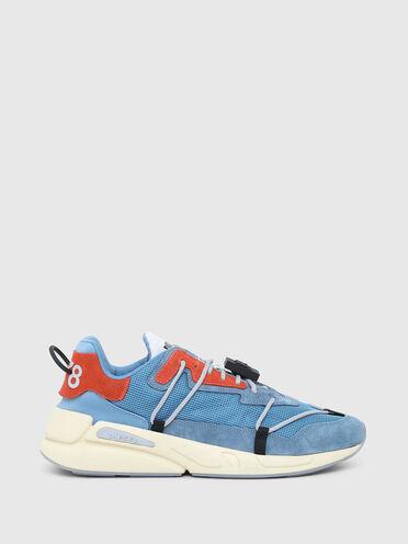 Sneakers aus Netzstoff, Nylon und Wildleder