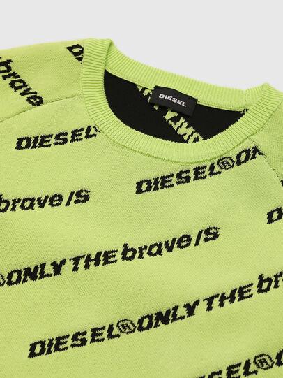 Diesel - KDAVIS, Neongrün - Strickwaren - Image 3