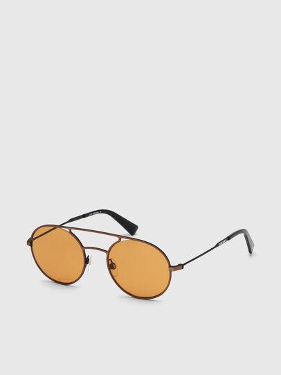 Diesel - DL0301, Orange/Schwarz - Sonnenbrille - Image 2