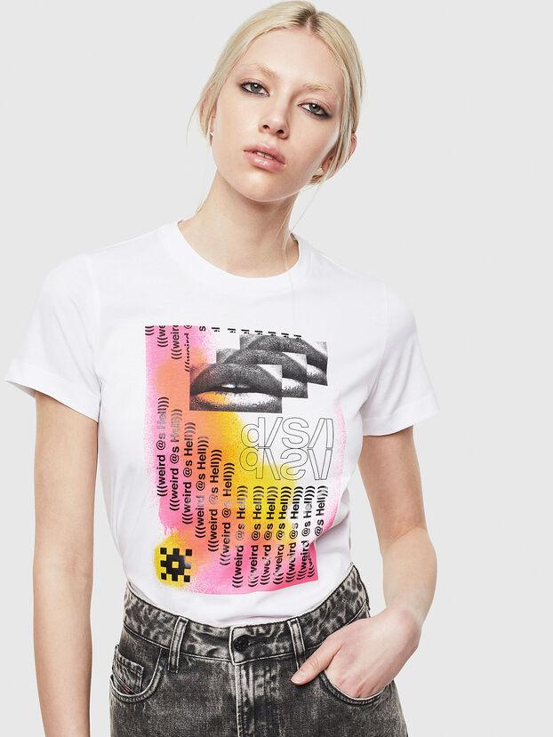 T-SILY-S5, Weiß - T-Shirts