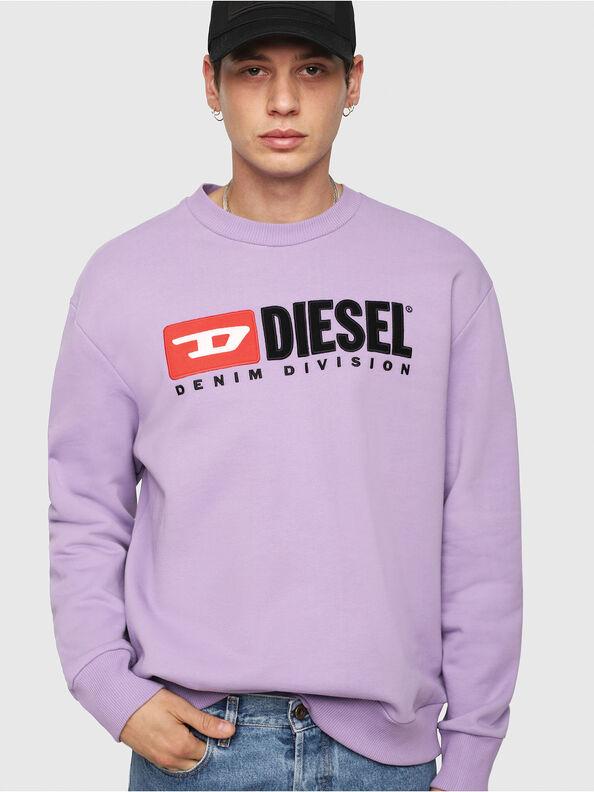 S-CREW-DIVISION, Lila - Sweatshirts