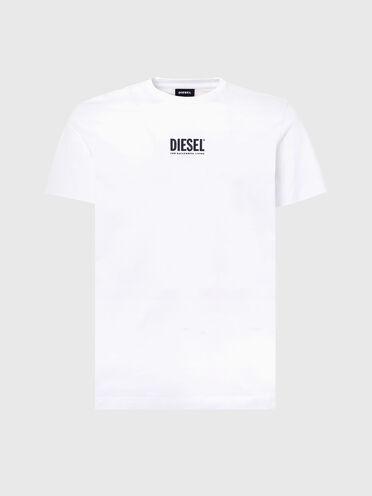 T-Shirt mit kleinem Diesel-Logo