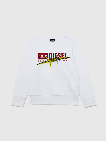 Diesel - SBAYBX5, Weiß - Sweatshirts - Image 1