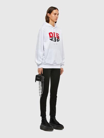 Diesel - S-GIRK-HOOD-N1, Weiß - Sweatshirts - Image 8