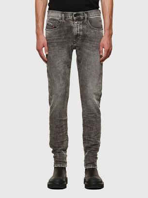 D-Strukt 009KA, Hellgrau - Jeans