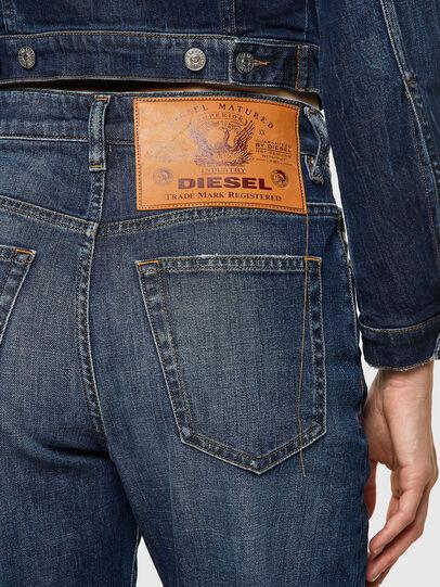 Diesel - D-Reggy 09A06, Dunkelblau - Jeans - Image 4
