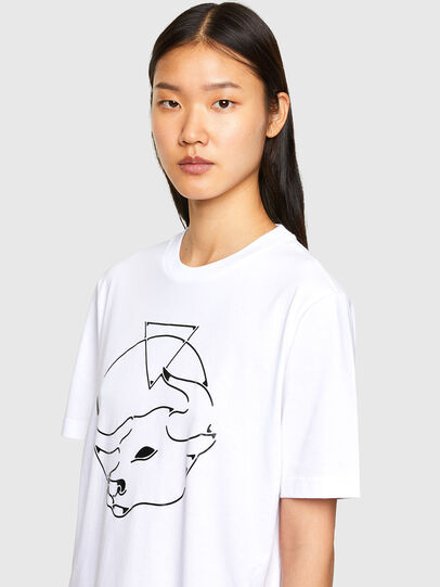 Diesel - CL-T-JUST-O, Weiß - T-Shirts - Image 6