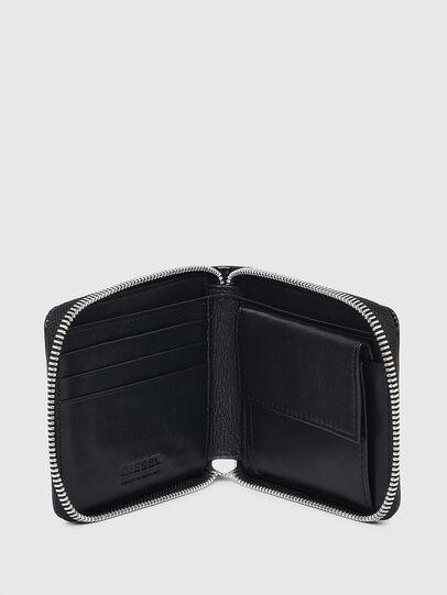 Diesel - HIRESH XS ZIPPI, Schwarz - Portemonnaies Zip-Around - Image 3