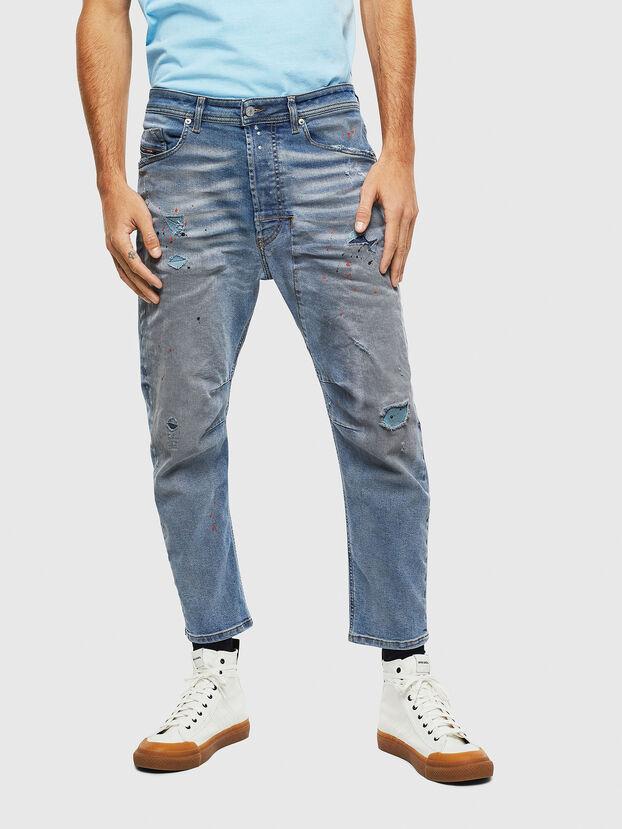 Narrot 009BN, Mittelblau - Jeans