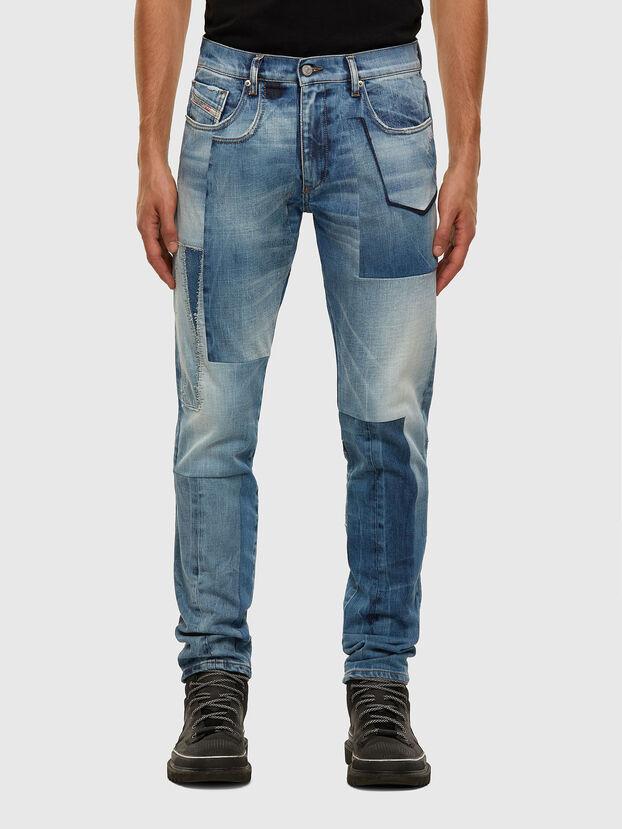 D-Strukt 009HZ, Hellblau - Jeans