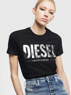 T-SILY-WX, Schwarz/Grau - T-Shirts