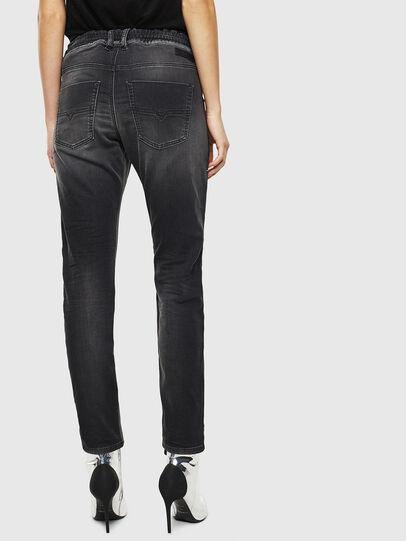 Diesel - Krailey JoggJeans 0094Q, Schwarz/Dunkelgrau - Jeans - Image 2