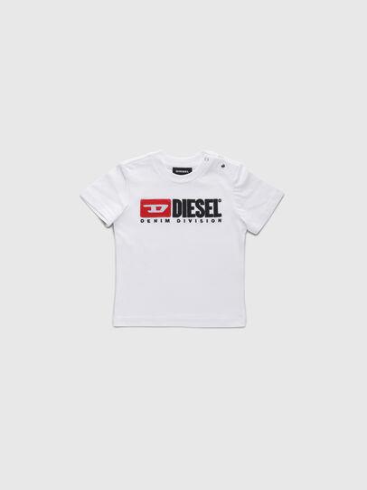 Diesel - TJUSTDIVISIONB, Weiß - T-Shirts und Tops - Image 1