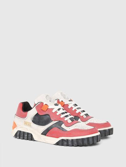 Diesel - S-RUA LOW SK, Weiss/Rot - Sneakers - Image 2