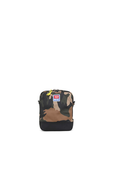 Crossbody-Tasche in Camouflage-Optik
