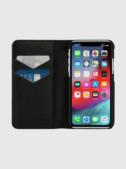 Diesel - DIESEL 2-IN-1 FOLIO CASE FOR IPHONE XR, Grau - Klappcover - Image 7