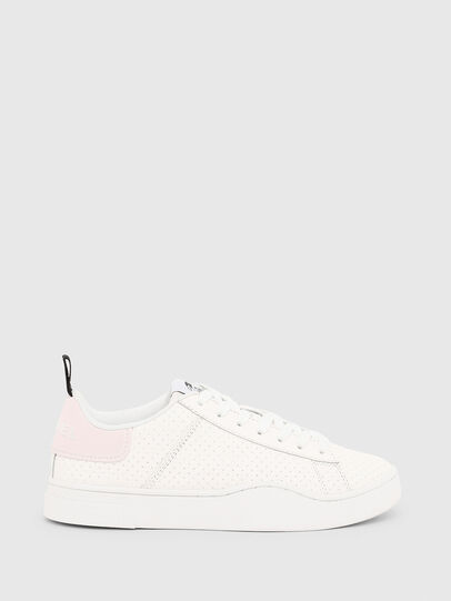 Diesel - S-CLEVER LOW LACE W, Weiß/Rosa - Sneakers - Image 1