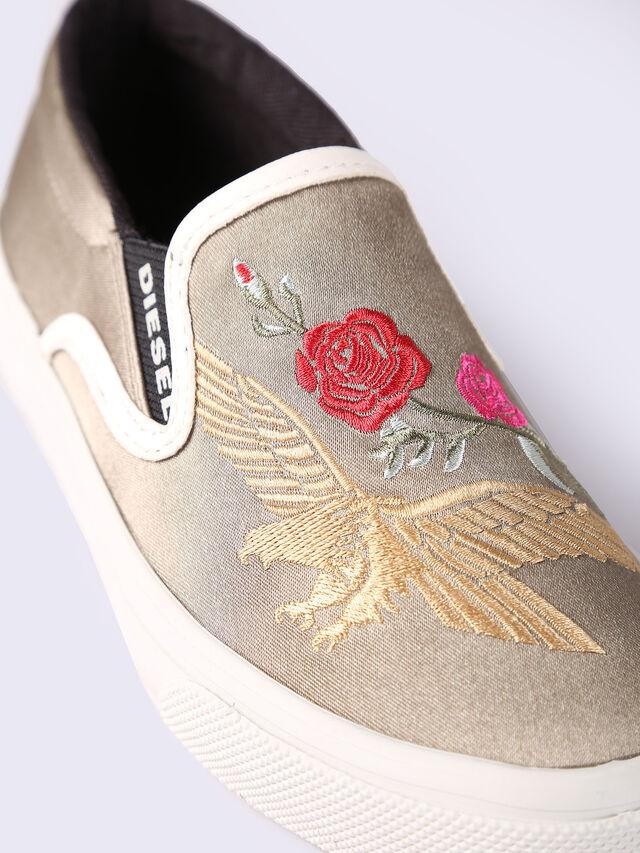 SLIP ON 20 EAGLE-ROS, Gold/Weiß