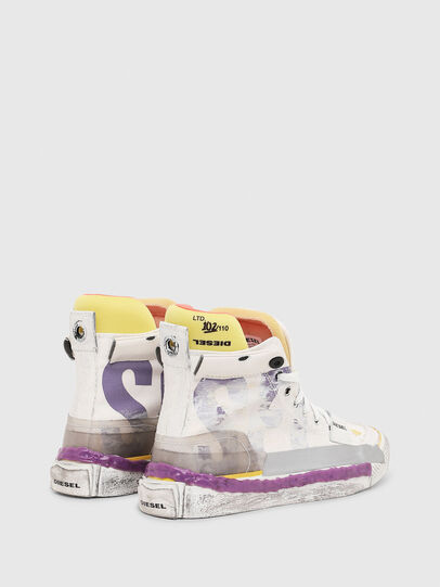 Diesel - S-ASTICO PNT W, Weiß/Rosa - Sneakers - Image 3