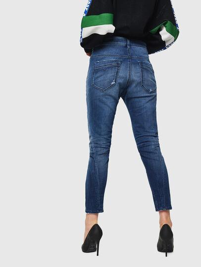 Diesel - Fayza JoggJeans 069HB, Mittelblau - Jeans - Image 2