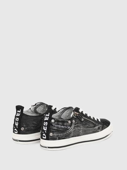 Diesel - EXPO-ZIP LOW W, Jeansschwarz - Sneakers - Image 3