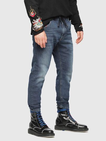 Diesel - Krooley JoggJeans 084UB, Mittelblau - Jeans - Image 1