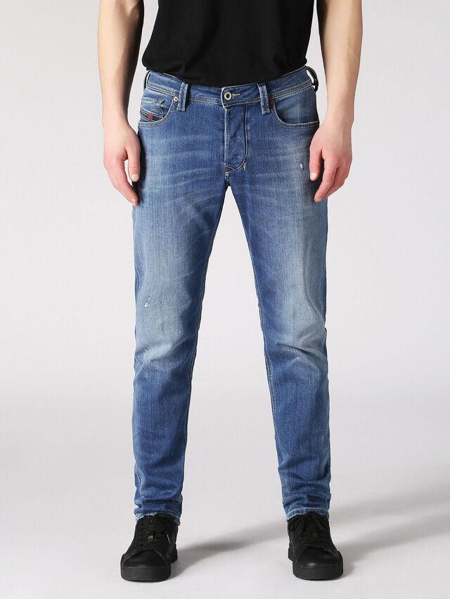 LARKEE-BEEX 084QQ, Jeansblau