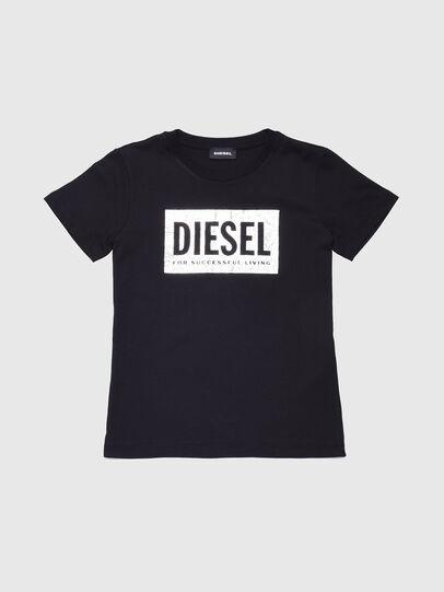 Diesel - TFOIL, Schwarz - T-Shirts und Tops - Image 1