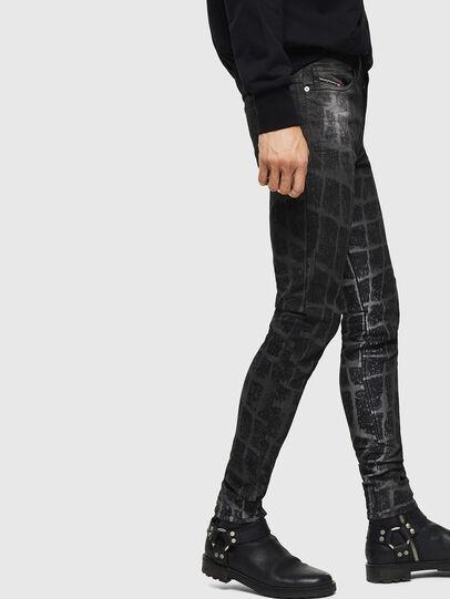 Diesel - D-Reeft JoggJeans 0094M, Schwarz/Dunkelgrau - Jeans - Image 6