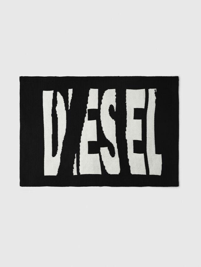 Diesel - K-TEST, Schwarz/Weiß - Schals - Image 1