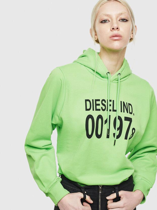 F-ANG-HOOD-J1, Neongrün - Sweatshirts