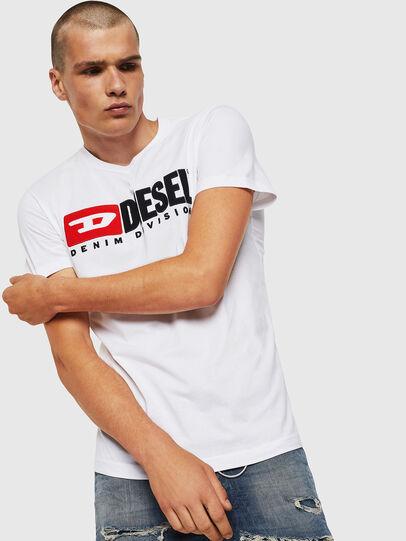 Diesel - T-DIEGO-DIVISION, Weiß - T-Shirts - Image 1
