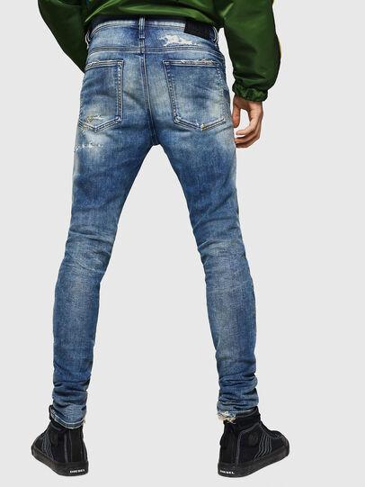 Diesel - D-Reeft JoggJeans 0870Q, Mittelblau - Jeans - Image 2