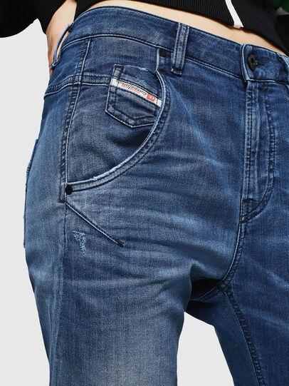 Diesel - Fayza JoggJeans 069HB, Mittelblau - Jeans - Image 6
